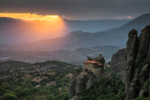 Meteora in Greece