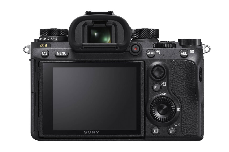 Sony A9 Back