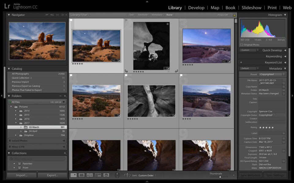 Lightroom-Library-Module