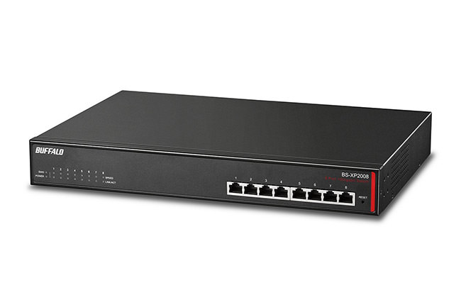 Buffalo 8 Port 10 GbE Switch