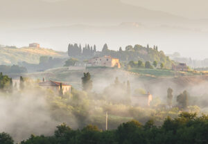 Photographing in Tuscany