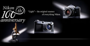 Happy 100th Anniversary Nikon!