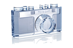 Nikon 100th Anniversary Crystal Nikon Model 1 Camera