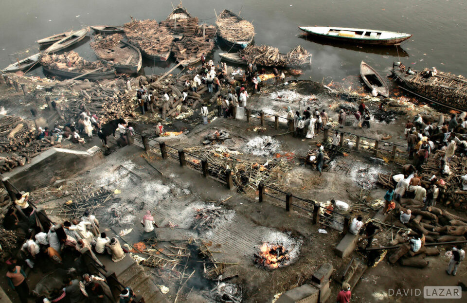 6. David Lazar - Manikarnika Burning Ghats-Varanasi-India