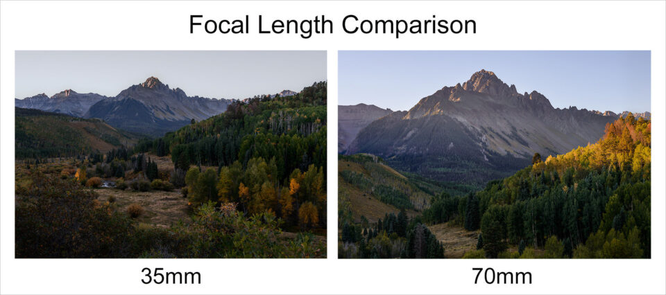 Focal-length-comparison