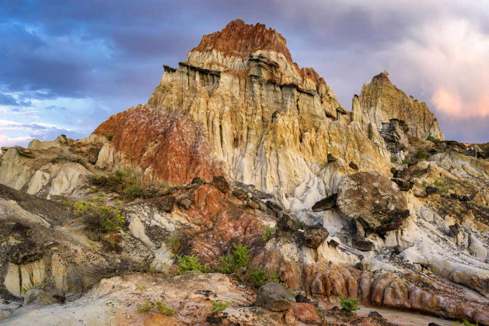 Colorful rock captured with the Nikon D810 DSLR camera
