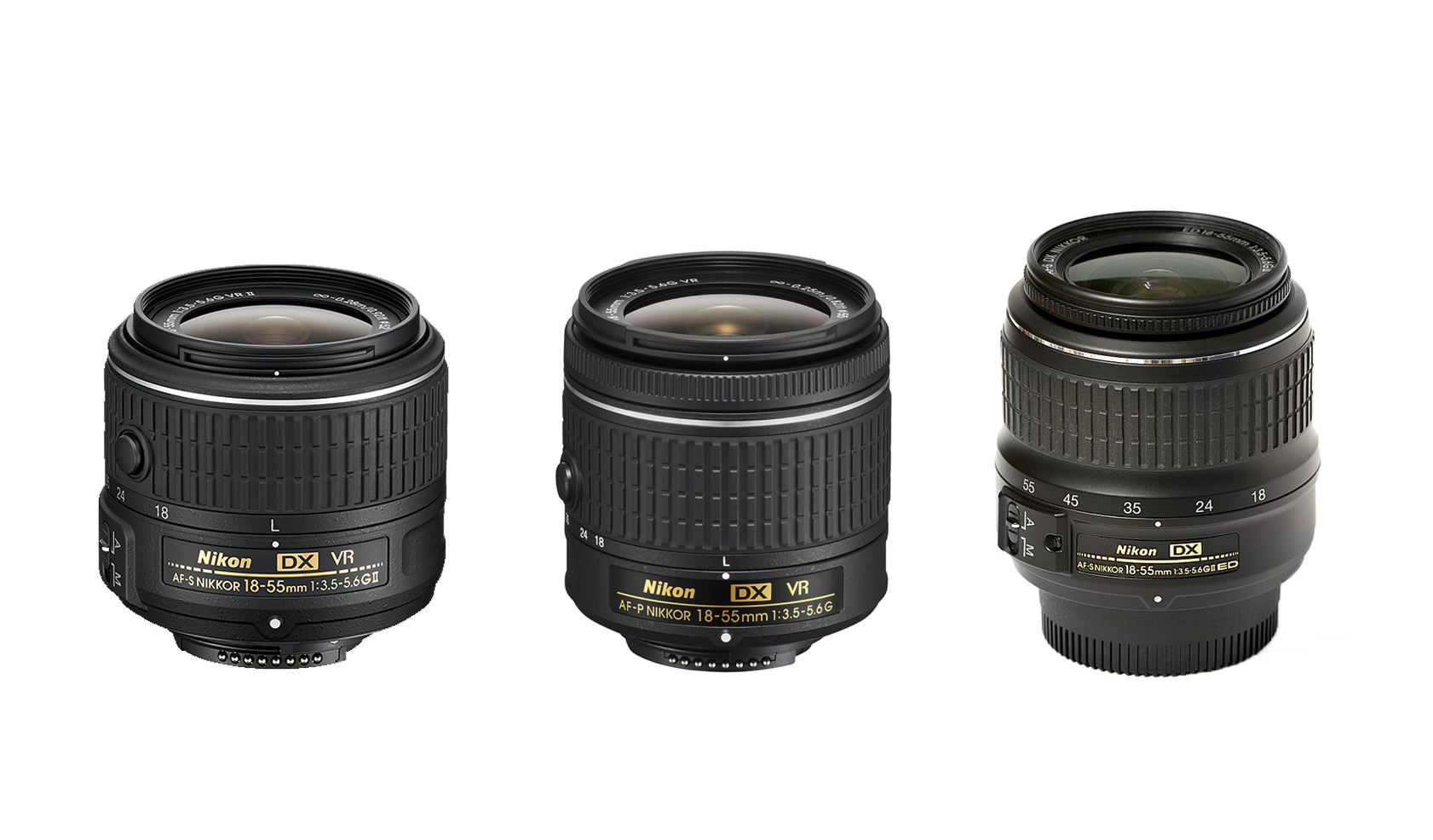 Nikon 18 55mm F 35 56g Dx Vr Af P Review Photography Life D5200 Kit Ii In This I Will Focus On The Comparison Of Latest Version With Older S Just For Sake Highlighting Progress