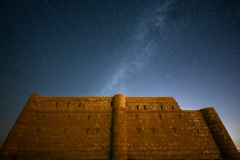 Desert Castle Milky Way