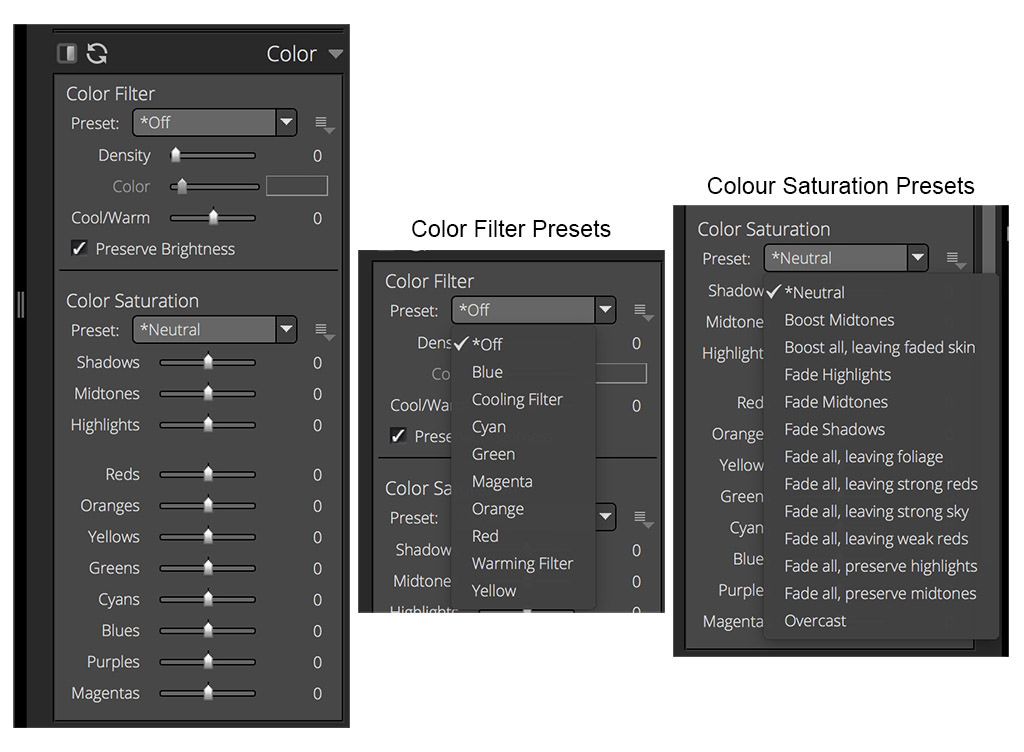 Colour Filters