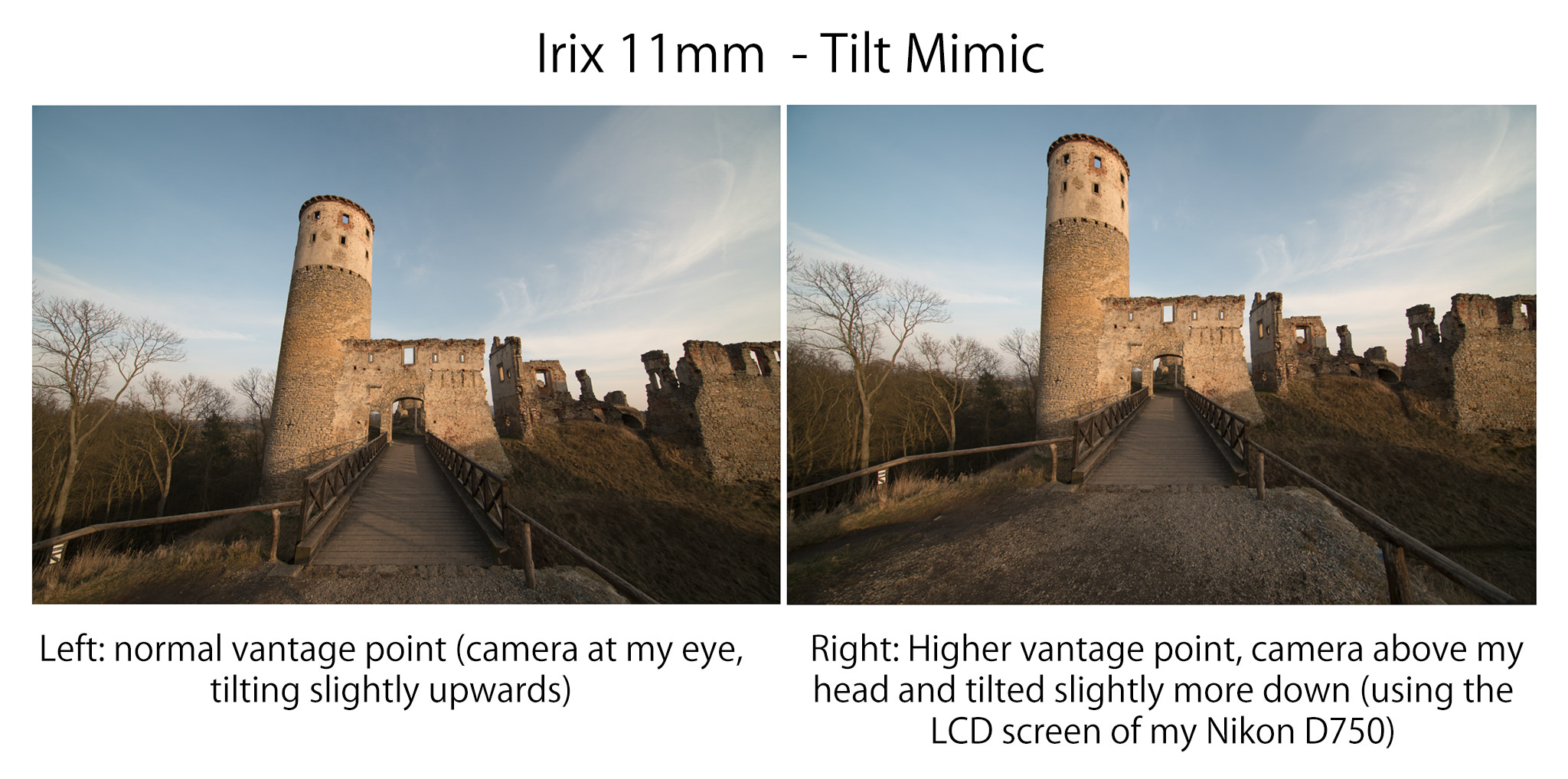 Irix 11mm f/4 Tilt Mimic