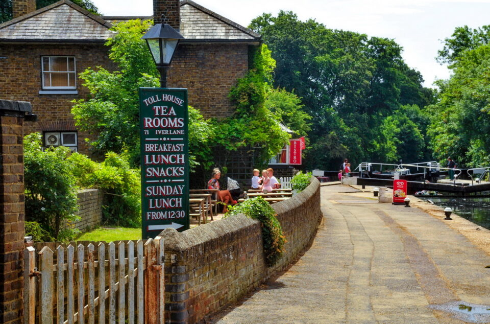 The Tea Room by the canal