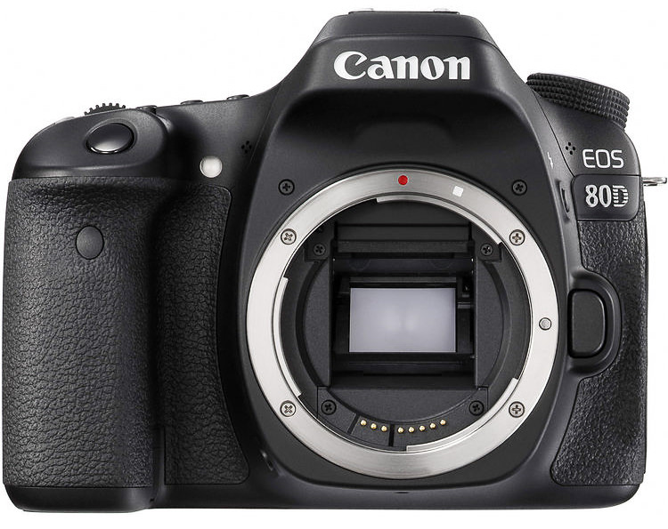 Canon 80D Front View