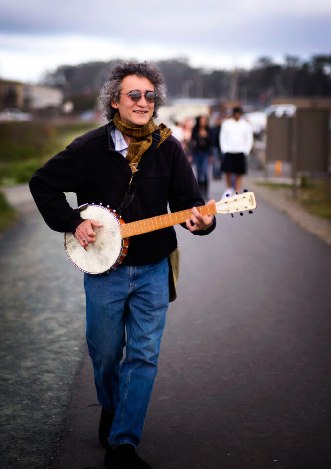 Man with a Banjo