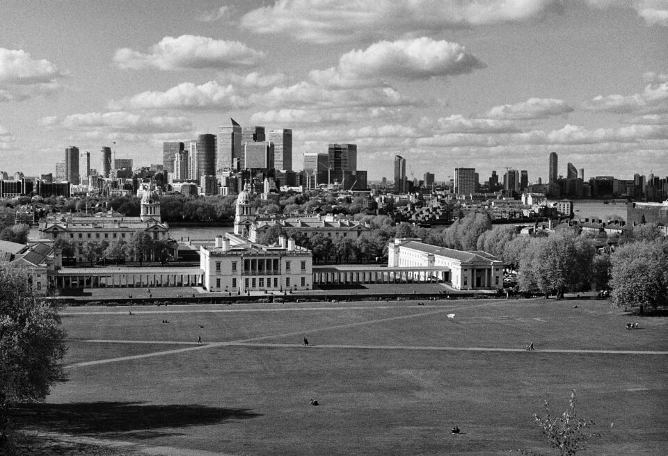Skyline-from-Greenwich-Konica-FP-1-Hexanon-50mm