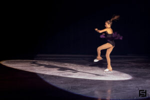 Spotlight Ice Skating Photo