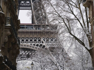 Photographing Snow in Paris