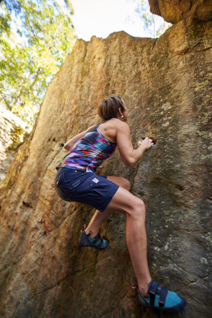 Bouldering Action Photo