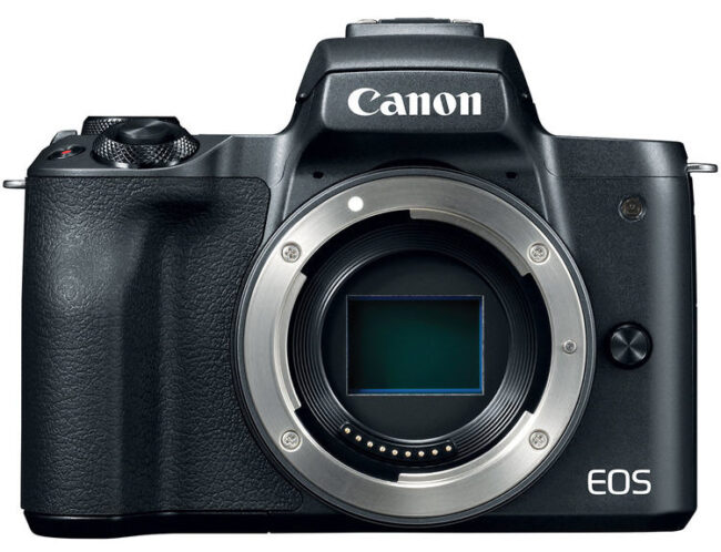 Canon M50 Front View
