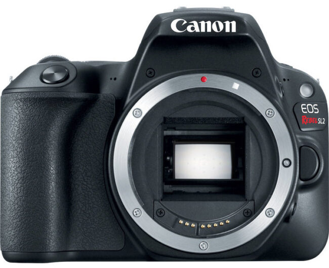 Canon SL2 Front View