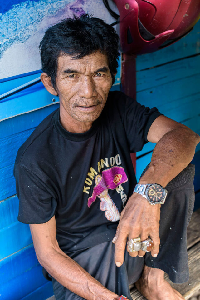 Indonesian Man Portrait