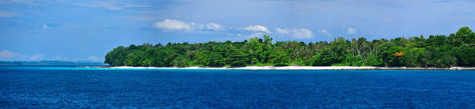 Mentawai Islands in Indonesia