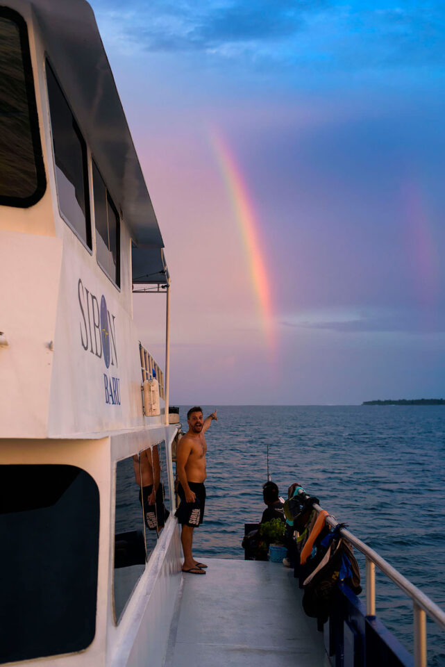 Rainbow in Indonesia