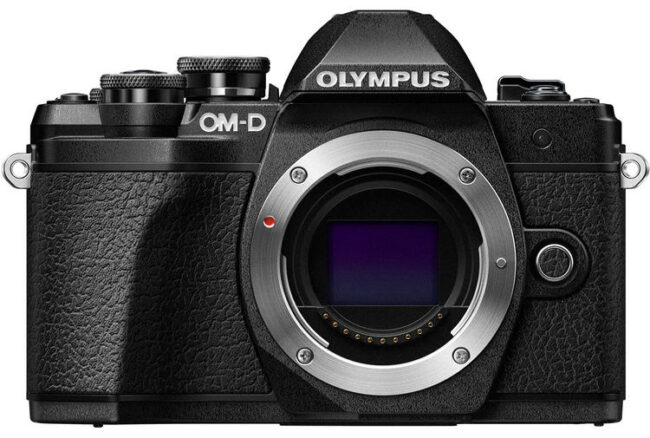 Olympus E-M10 III Front View