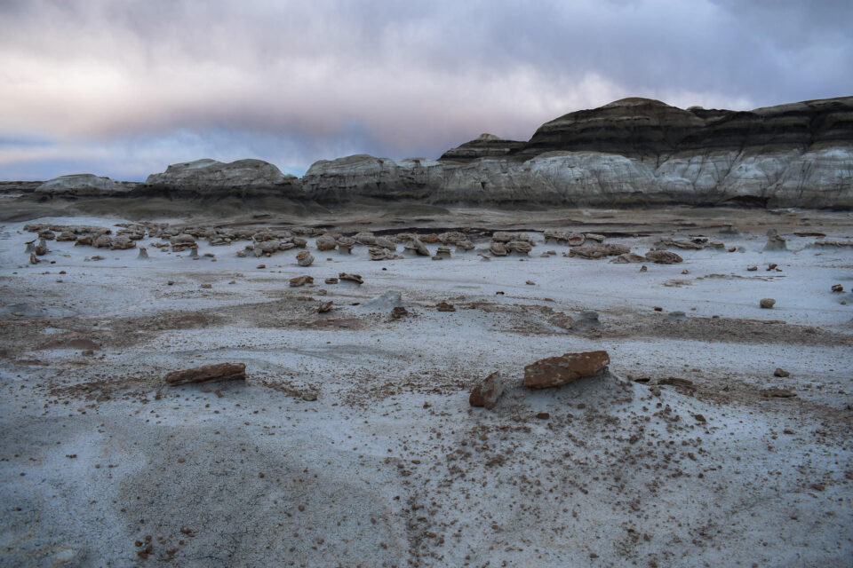 Bisti Badlands Landscape Picture at Egg Factory