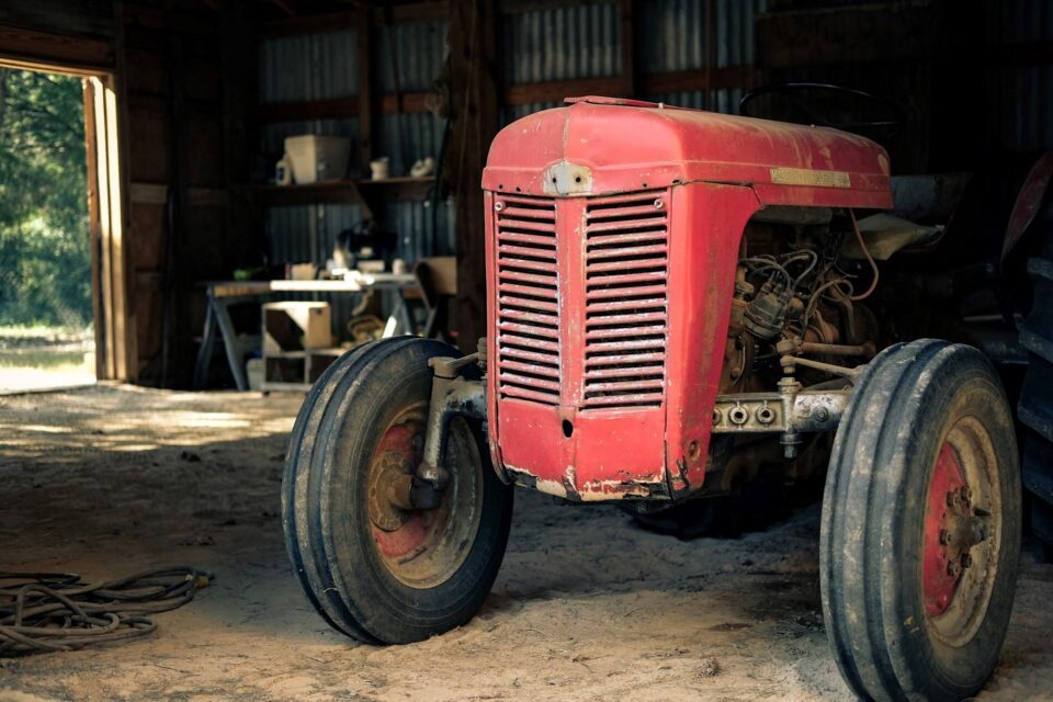 Dad's Old Tractor (1)