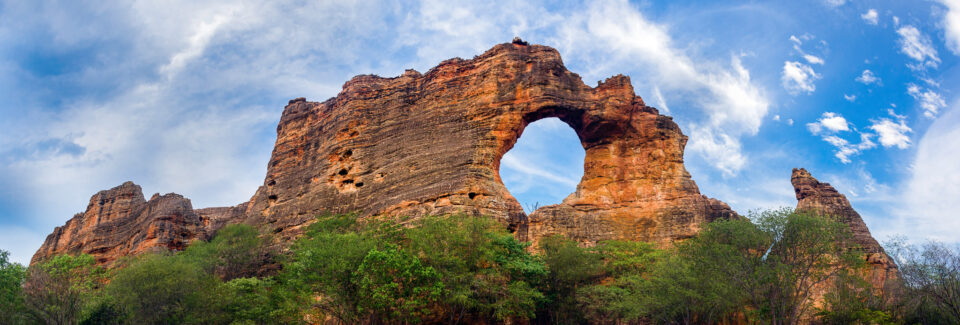 Natural Sandstone Arch