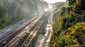 Railroad-Tracks-After-Rain