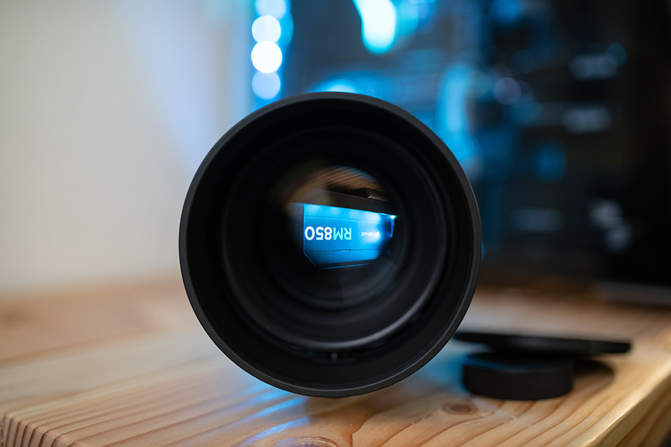 Sigma 105mm f/1.4 Front View