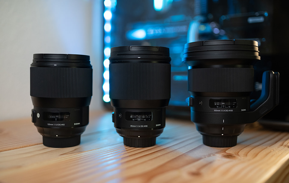 Sigma 85mm vs 105mm vs 135mm