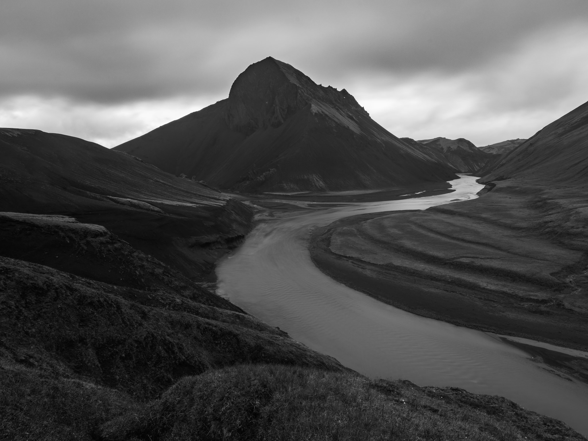 Triangle mountain black and white nikon d800e tamron 15 30mm f 2 8 vc 21mm iso 100 8 seconds f 10 0