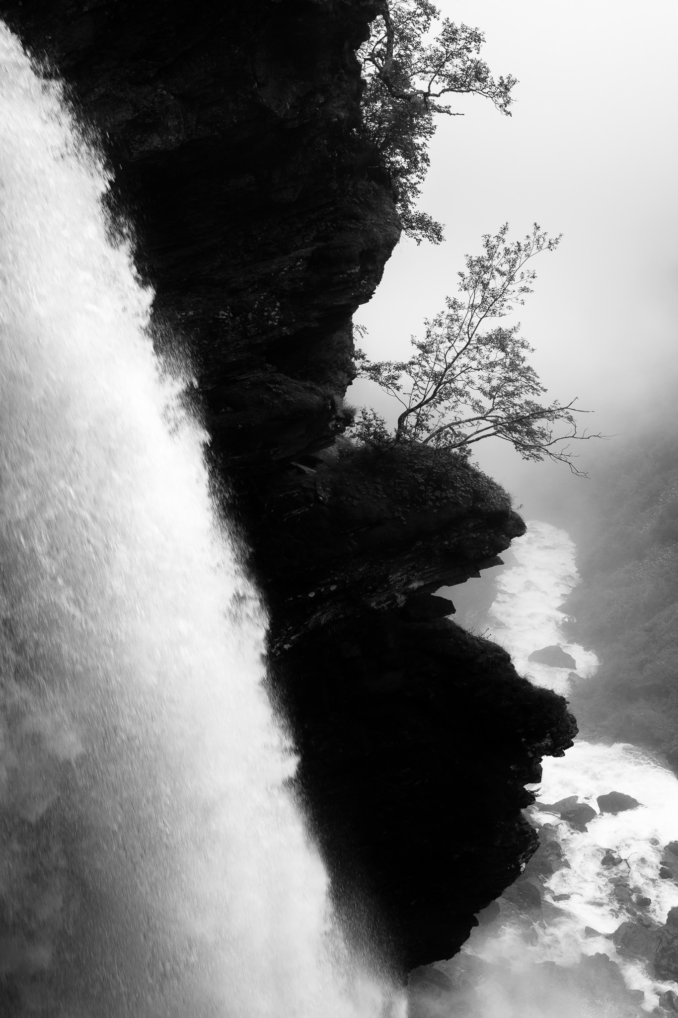 Black and white than color waterfall landscape photo waterfall landscape photo nikon d7000 24mm f 1 4 24mm iso 100 1 200 f 7 1