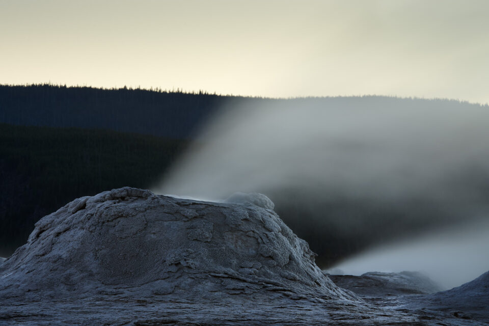 Blurred Geyser Photo 2