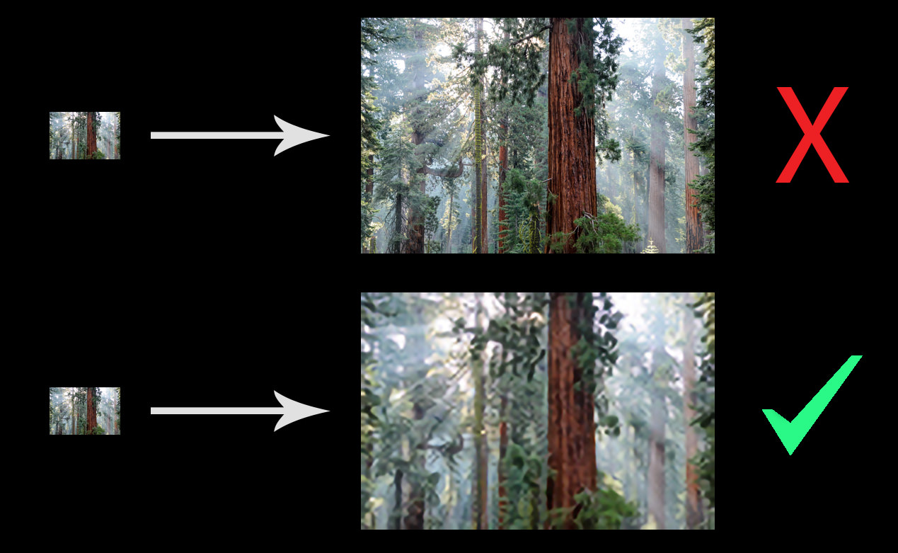 How to Increase the Resolution of an Image