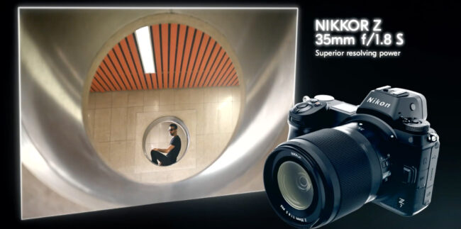 Nikon 35mm f1.8 Mirrorless