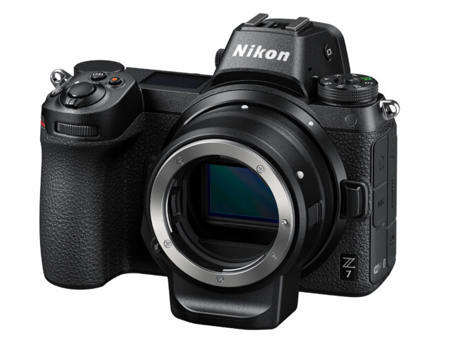 Nikon Z7 with FTZ Adapter
