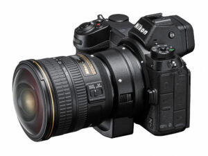 Nikon Z7 with FTZ and Nikon F Lens