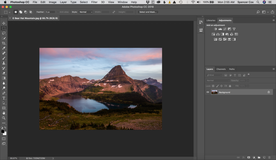 Upsize Image in Photoshop Screenshot 1
