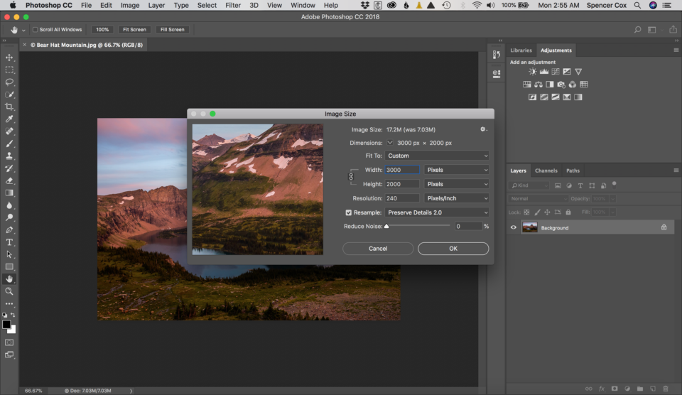 Upsize Image in Photoshop Screenshot 3
