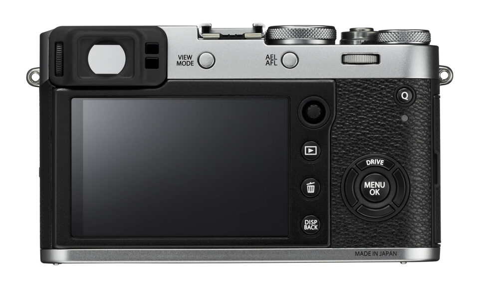 Back Controls of Fuji X100F