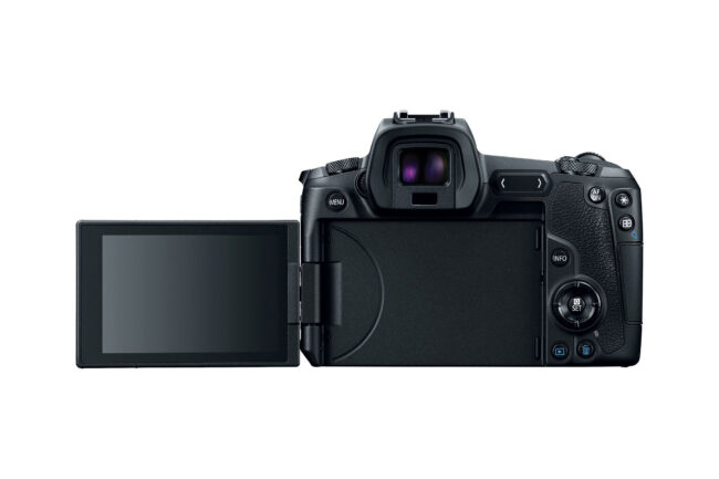 Canon EOS R Back with LCD