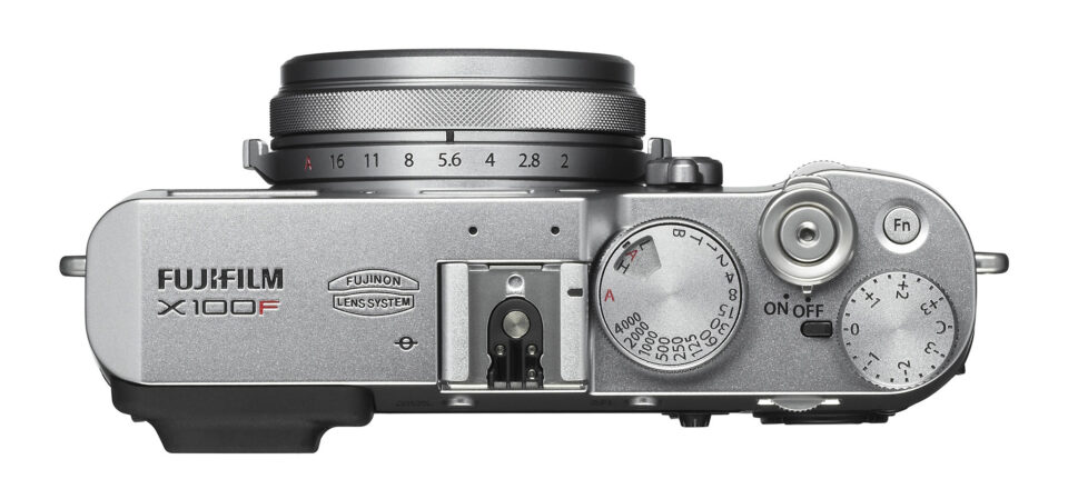 Top Controls of Fuji X100F