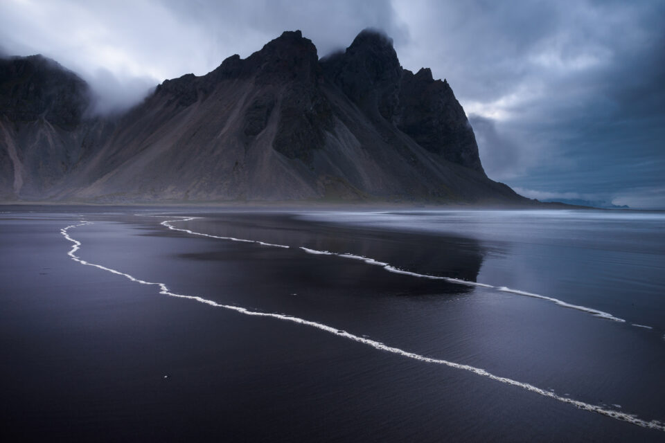 Final Result of Vestrahorn Photo