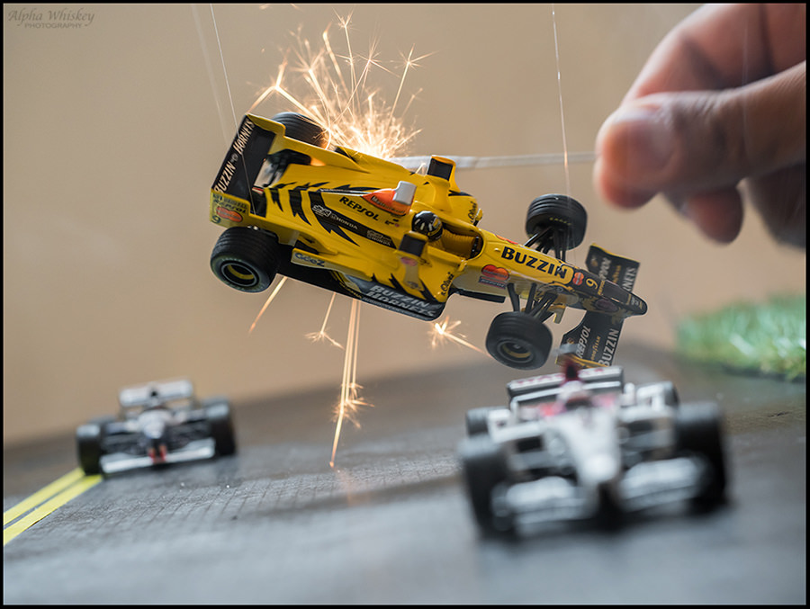 Photographing Scale Model Cars