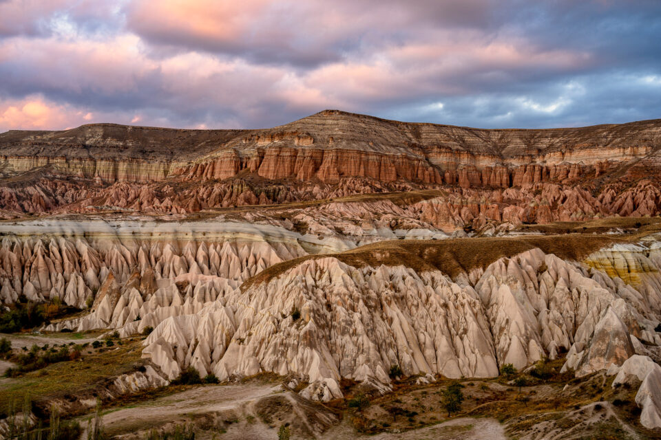 Cappadocia at Sunset. A solid candidate with plenty of colors and contrast, which was very easy to edit in Lightroom.