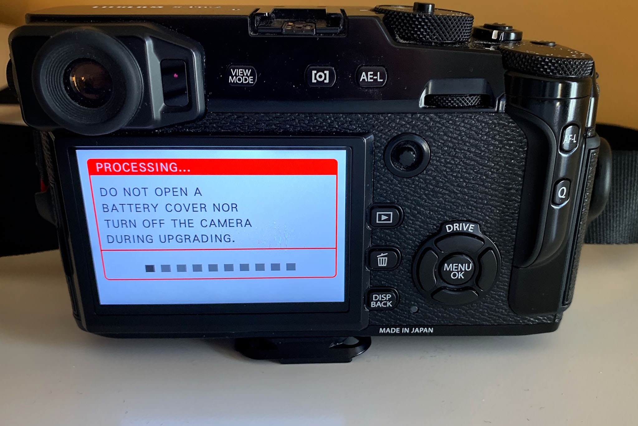 How to Update Firmware on Fujifilm Cameras