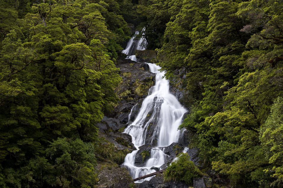 Waterfall in New Zealand